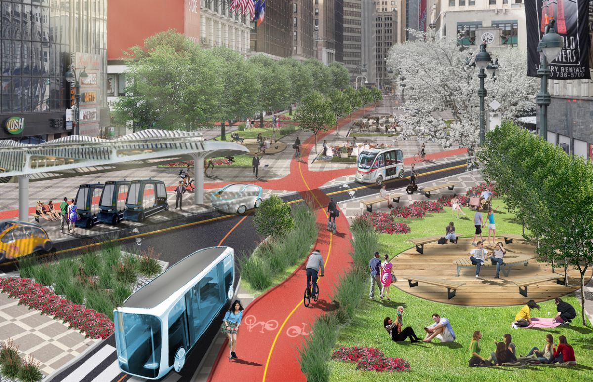 Future New York street planning projects